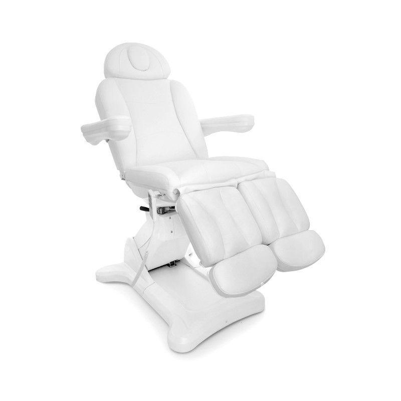 Otočné elektrické kosmetické křeslo 2246A PEDI bílé