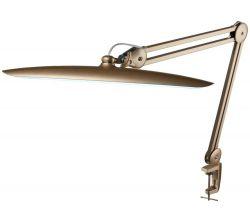 LED lampa Sonobella BSL-01 LED 24W s clipem - zlatá