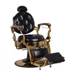 GABBIANO Barber křeslo TITO GOLD - černé