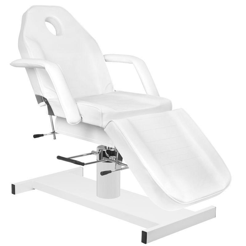 Hydraulické kosmetické křeslo A 210 bílé
