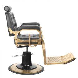 Barbers - holičské křeslo GABBIANO BOSS černé