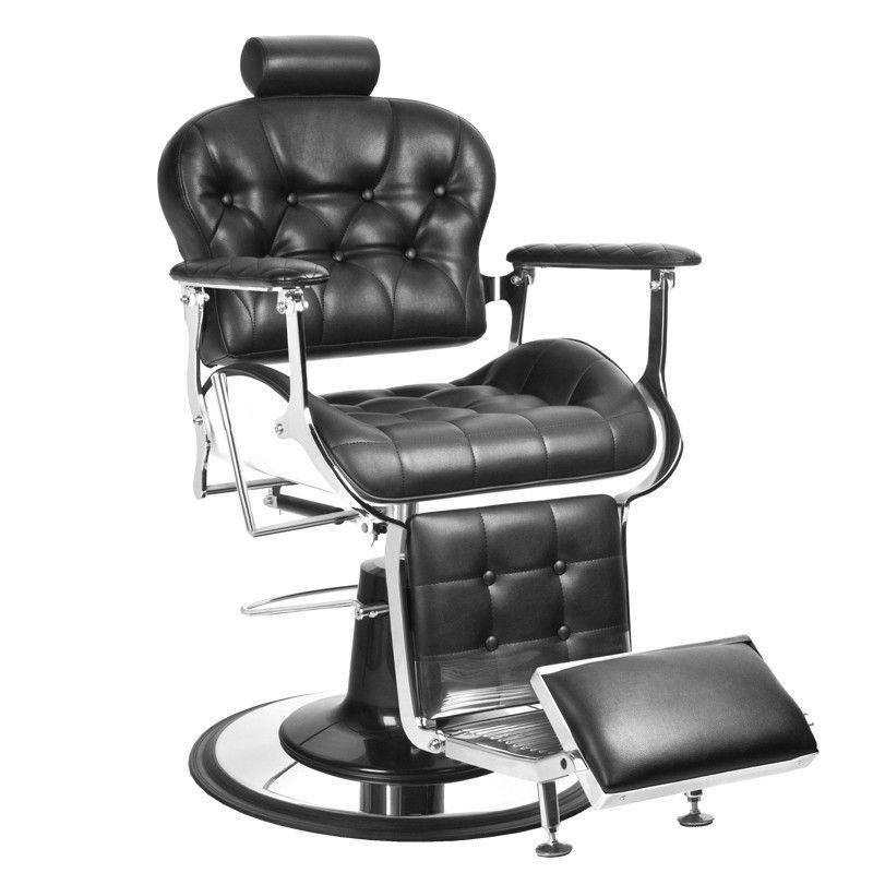 Barbers - holičské křeslo GABBIANO PREMIER černé