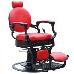 Barbers křeslo GABBIANO PRESIDENT červené (AS)