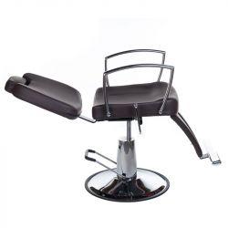 Barbers - holičské křeslo HOMER II BH-31275 hnědé