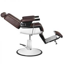 Barbers křeslo GABBIANO ROYAL II hnědé