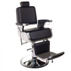 Barbers křeslo LUMBER BH-31823 černé (BS)