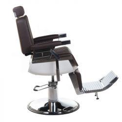 Barbers křeslo LUMBER BH-31823 hnědé