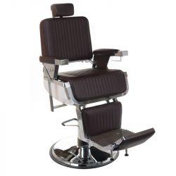 Barbers křeslo LUMBER BH-31823 hnědé (BS)