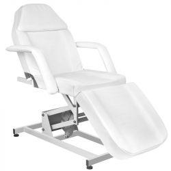 Elektrické kosmetické křeslo AZZURRO 673A bílé (AS)