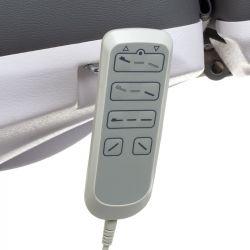 Elektrické kosmetické křeslo MAZARO BR-6672 šedé