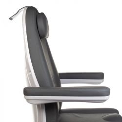 Elektrické kosmetické křeslo MAZARO BR-6672B šedé