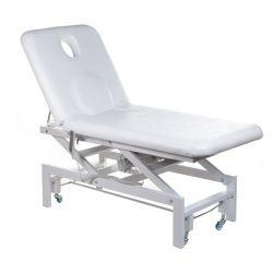 Elektrické masážní lehátko BT-2114 bílé (BS)
