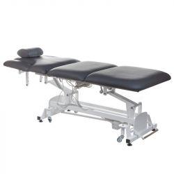 Elektrické polstrované masážní lehátko BT-2120 šedé (BS)