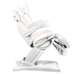 Kosmetické elektrické křeslo AZZURRO 872S PEDI-PRO 3 motory - bílé