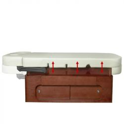 Kosmeticko-masážní lehátko AZZURRO WOOD 361A 4 motory