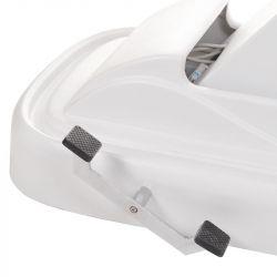 Mobilní elektrické kosmetické křeslo BT-2137A bílé