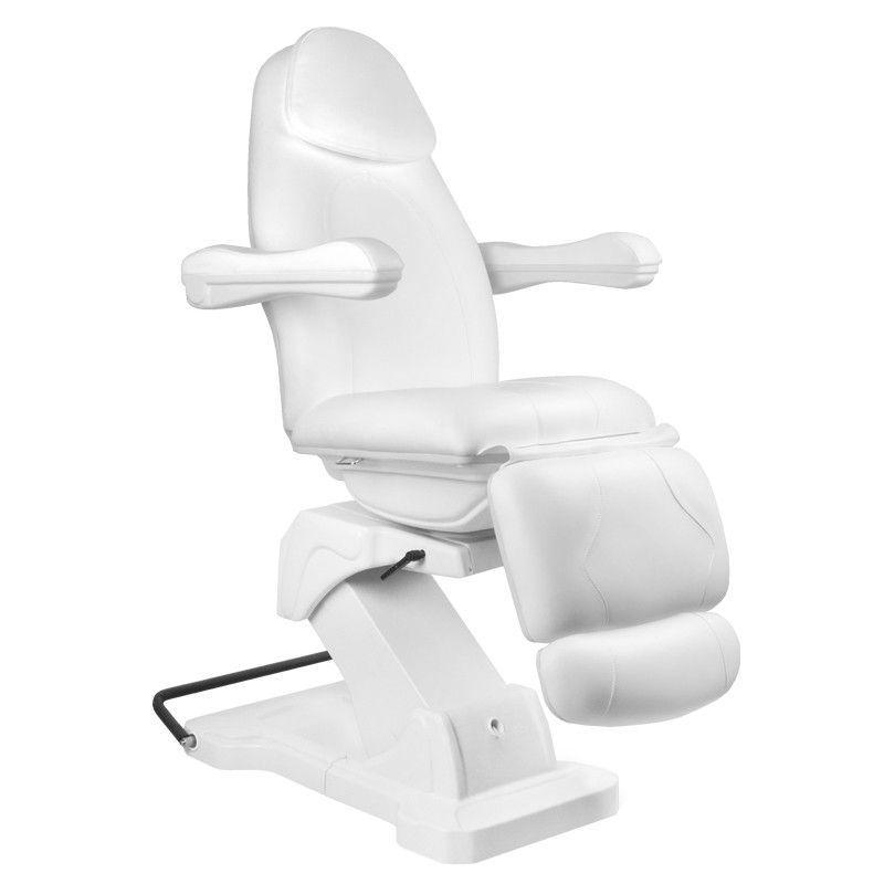 Otočné elektrické kosmetické křeslo BASIC 161 - bílé