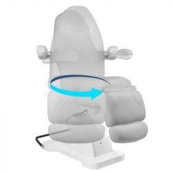 Otočné elektrické kosmetické křeslo BASIC 161 - šedé