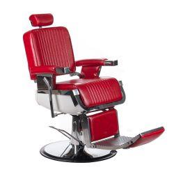Barber křeslo LUMBER BH-31823 - červené