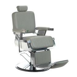 Barber křeslo LUMBER BH-31823 - světle šedá