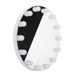 Kulaté LED osvětlené zrcadlo HOLLYWOOD, průměr 80 cm WA-80Z