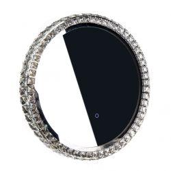 Kulaté zrcadlo zdobené GLAMOUR LED, průměr 50 cm - WA-50C