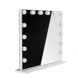 LED osvětlené zrcadlo HOLLYWOOD 80 x 65 cm - 8065-Z