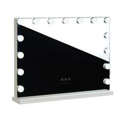 Zrcadlo s LED osvětlením HOLLYWOOD  - 58x46 cm