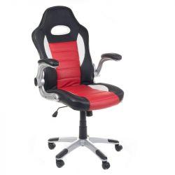 Kancelářské křeslo RACER CorpoComfort BX-6923 - červené