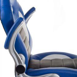 Kancelářské křeslo RACER CorpoComfort BX-6923 - modré