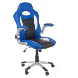 Kancelářské křeslo RACER CorpoComfort BX-6923 - modré (BS)