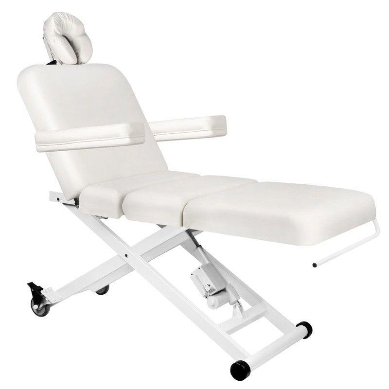 Elektrické masážní lehátko AZZURRO 336B 3motory-bílé