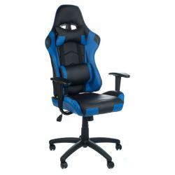 Herní židle RACER CorpoComfort BX-3700 modrá