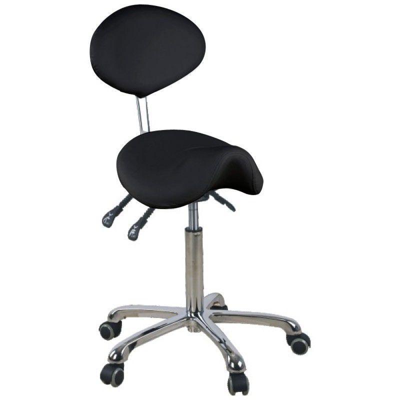Kosmetická židle GIOVANNI 1025 černá