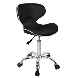 Kosmetická židle GABBIANO Q-4599 černý (AS)