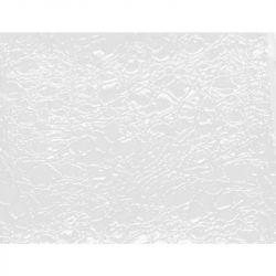 Kadeřnické křeslo GABBIANO ROMA bílo-oranžové povrch