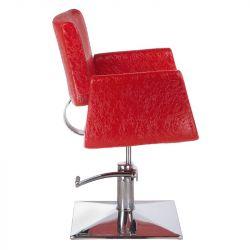 Kadeřnické křeslo VITO BH-8802 červená LUX