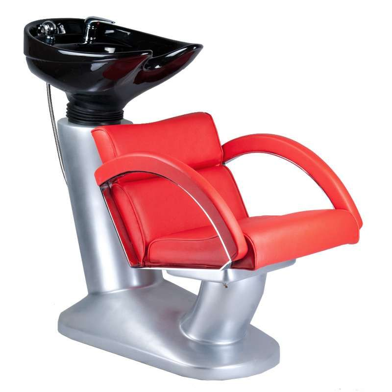 Kadeřnický mycí box DINO BR-3530 červený