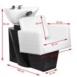 Kadeřnický mycí box GABBIANO ANKARA bílý