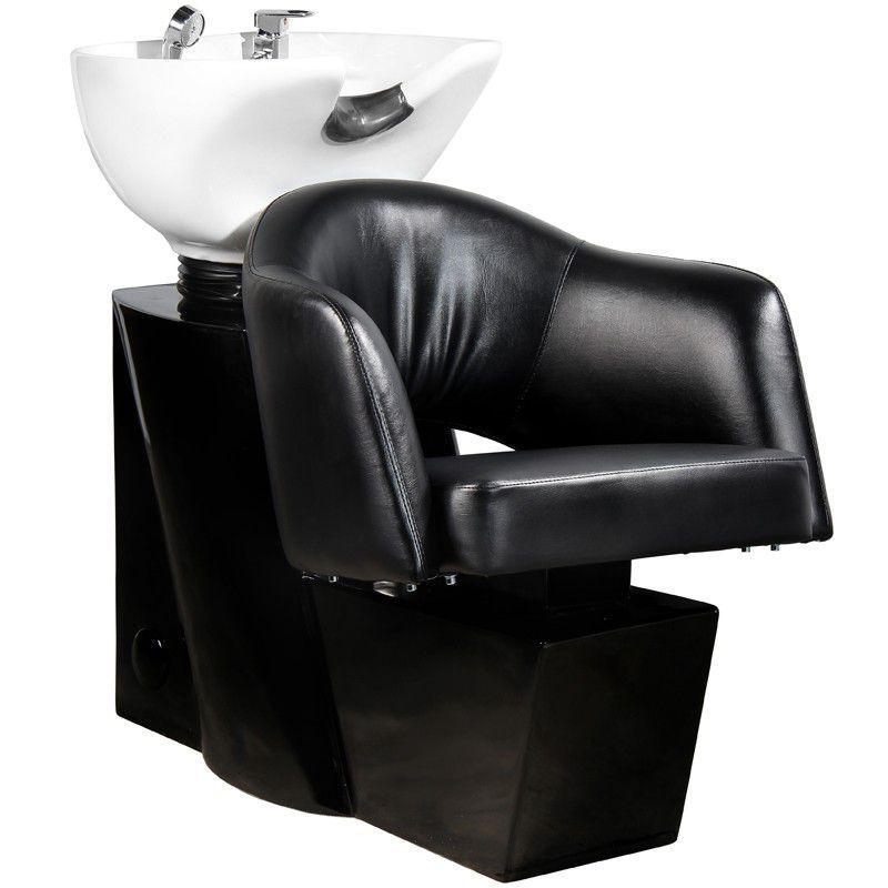 Kadeřnický mycí box GABBIANO LIZBONA černý