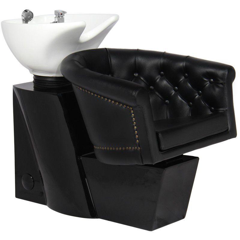 Kadeřnický mycí box GABBIANO LONDON černý