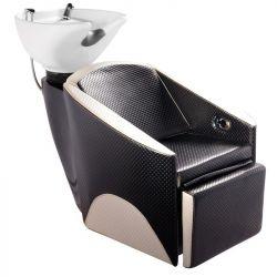 Kadeřnický mycí box GABBIANO PARIS černo-béžový (AS)