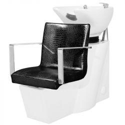 Kadeřnický mycí box GABBIANO ROMA černý (AS)