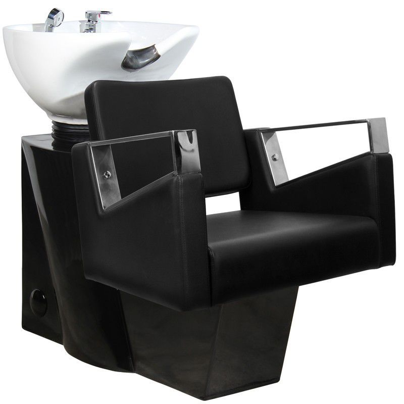Kadeřnický mycí box GABBIANO WILNO černý