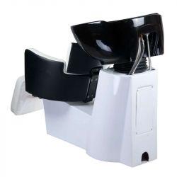 Kadeřnický mycí box LUIGI BR-3542 černo-bílý