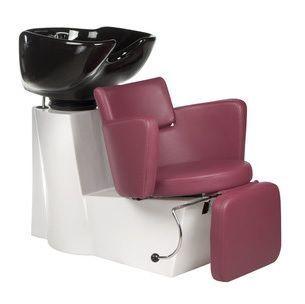Kadeřnický mycí box LUIGI BR-3542 vřesový