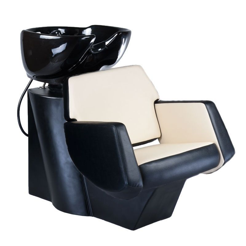 Kadeřnický mycí box NICO BD-7821 černo-béžový